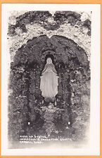 Postcard - Immaculate Conception Grotto Carroll Iowa