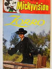 Mickyvision -  Zorro  Nr.9  (1963)  Walt Disneys   Zustand 2