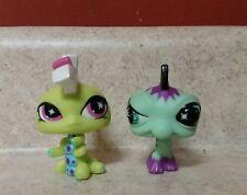 LPS Littlest Pet Shop NO # Punk Rock Caterpillar Lizard Mohawk Set