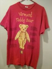 vermont teddy bear red womans p.j. gown100% cotton one size fits all