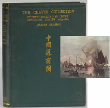 Chater Collection China Hong Kong Macao 1924 limited edition James Orange