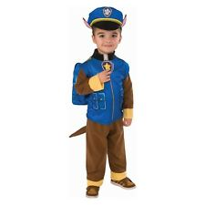 Toddler Boys 3T/4T-3/4 PAW Patrol Chase Costume~Sound~Pup Pack Backpack~Hat