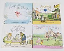 Angelina Ballerina Children's Books Lot Of 4 By Katharine Holabird LN