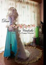 Fate Grand Order Saber Nero Cosplay Costume Wedding dress White Custom Made