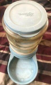 Petmate 5 Lb Blue Lebistro Feeder