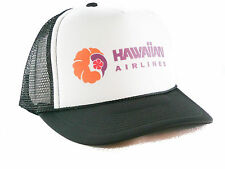 NEW Hawaiian Airlines Trucker Hat mesh hat snapback hat Black