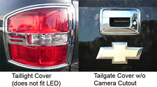 2014-2016 GMC Sierra Door + Tailgate Handle Covers Chrome