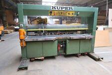Veneer Sewing - Klebemaschine KUPER FWO 1800 #3336
