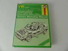 (ref255C) Haynes Manual VW Golf + Jetta 1984-1985