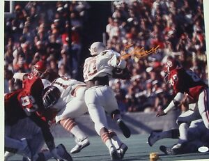 EARL CAMPBELL  signed 16 x 20 TEXAS LONGHORNS  Autographed Photo JSA