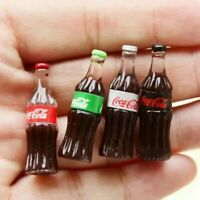 Doll House Accessories 1:12th Miniature - Set of 4 Coke Bottles