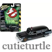 Johnny Lightning Ghostbusters ECTO 1 1959 Cadillac Ambulance 1:64 Black JLSS005
