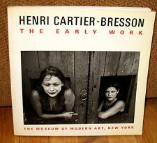 Henri Cartier Bresson The Early Work 1987 Museum of Modern Art 125 Photographs