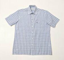 NWOT Yves Saint Laurent Mens Shirt Madras Plaid Check UK M 15.5 39cm RRP £115