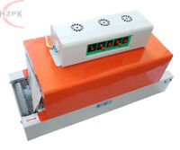 220V Chain Belt Type Shrink Wrap Machine 0-32.8ft/min 3KW Sealer for PVC/PP/POF
