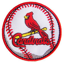 MLB STL St. Louis Cardinals Logo embroidered Iron on patch. 2.6 inch (i162)