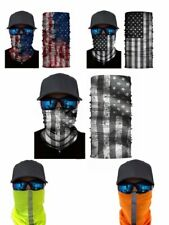 Usa Face Shield American Flag Mask Balaclava Fishing Shield Sun Gaiter - New