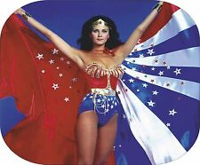 WONDER WOMAN Lynda Carter on a Pictorial Computer Mouse Mat unbranded/generic
