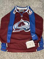 NHL REEBOK Premier Colorado Avalanche Hockey Jersey New Youth L/XL