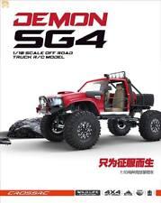 2018 Cross-Rc Demon Sg4C 1:10 4X4 Rc Crawler Truck w/Hard Body Usa Importer