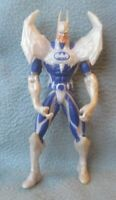 "BATMAN 6.5"" ACTION FIGURE White Wings White & Blue 1997 Kenner Loose SB1"