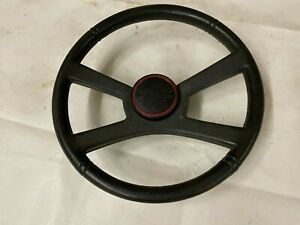 1988-1994 GMC 4 Spoke Steering Wheel & Horn Button Cap Truck Suburban Jimmy