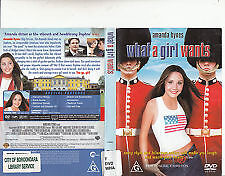 What a Girl Wants DVD Amanda Byrnes Eileen Atkins_Comedy_G rated - AUSTRALIA R4