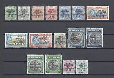 BAHAMAS 1942 SG 162/75A, 172A, 173A USED Cat £120