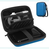 Hard Case External Drive Portable Backup Canvio Basics Western Digital Navy