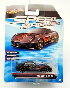 Hot Wheels Speed Machines Ferrari 599XX Black