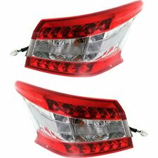FOR NS SENTRA 2013 2014 2016 TAIL LAMP RIGHT & LEFT PAIR