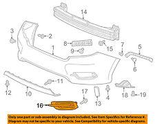 HONDA OEM 16-17 Civic Rear Bumper-Applique Right 71503TBAA00