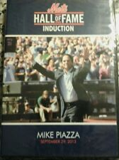 New York Mets Hall Of Fame Induction Mike Piazza DVD New Rare September 29, 2013