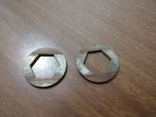 Vintage Arctic Cat Snowmobile Suspension Hex Washers (2) 0104-784 '76 - '81