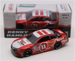 NASCAR 2017 DENNY HAMLIN  #11 SPORTS CLIPS DARLINGTON SPECIAL 1/64 DIECAST CAR