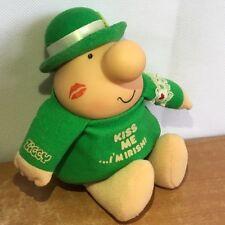 Ziggy Plush Vintage St Patricks Day Kiss Me Im Irish Leprechaun Toy Tom Wilson