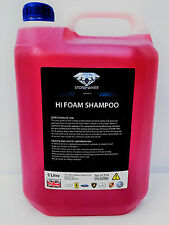 5L PROFESSIONAL CAR CHERRY SNOW FOAM CLEANER WITH WAX WASH SHAMPOO FOR VALETING