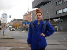 Strickjacke M L Mohair Strickjacke 90er royalblau True VINTAGE 90s knit sweater