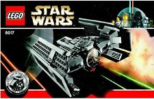 LEGO STAR WARS DARTH VADER'S TIE FIGHTER SET# 8017 100% COMPLETE GUARANTEE