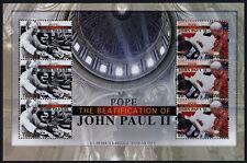 Tuvalu 1162-3 Sheet MNH Beatification of Pope John Paul II