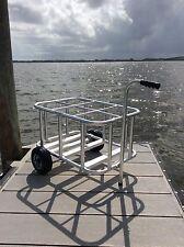 Scuba Tank Rack to Cart Conversion Kit