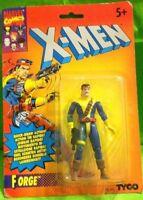 ACTION FIGURE VINTAGE 90 HERO SUPER EROI MARVEL COMICS 1993 TYCO,X MEN MAN FORGE