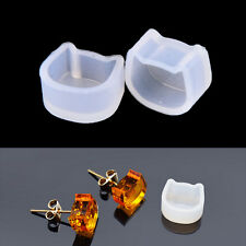 2pcs Women Clear Silicone Mold For Making Jewelry Earrings DIY Mold Resin MoldsL
