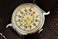 Pobeda Pilot Aviator Shturmanskie USSR Soviet Wristwatch For Men Exclusive