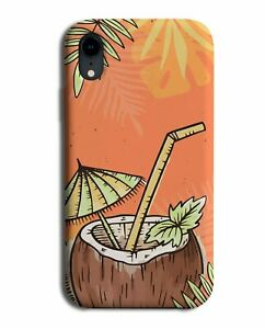 Pina Colada Coconut Cup Drink Print Phone Case Cover Cocktail Cocktails M329
