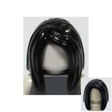 LEGO - Minifig, Hair Female Long Straight - Black