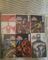 Marvel Comics Captain America Reborn 6 issues  Ed Brubaker Winter Soldier Bryan