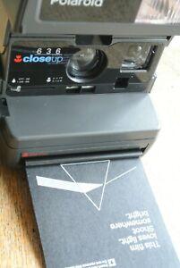 Polaroid 636 Close-up Camera NICE + WORKING  + Instructions