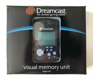 Sega Dreamcast Visual Memory Unit Smoke VMU Model HKT-7000 Brand New