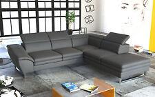 Couch Garnitur Ecksofa Sofagarnitur Sofa MICHELLINI 1 Wohnlandschaft